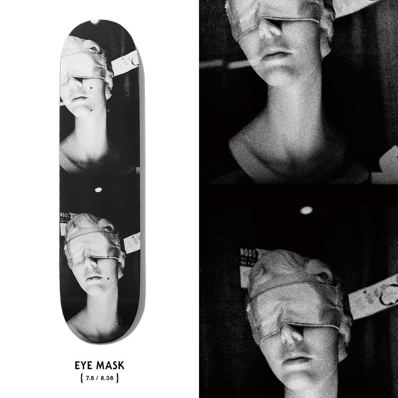EVISEN SKATEBOARDS×DAIDO MORIYAMA EYE MASK 7.8/8.38