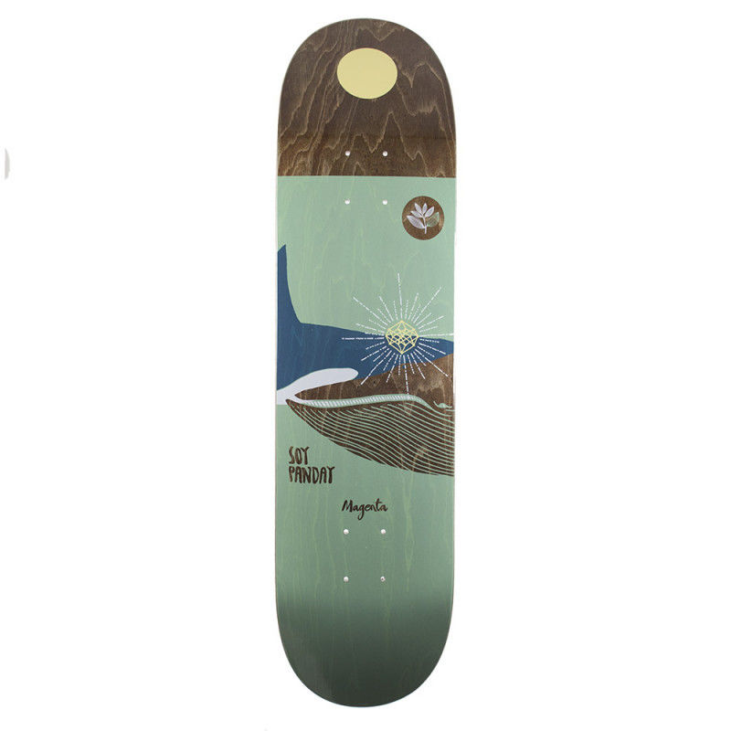MAGENTA SKATEBOARDS OCEAN SOY PANDAY DECK 8.0inch