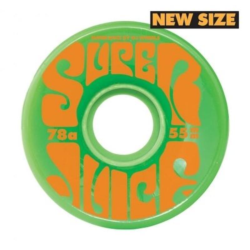 OJ WHEELS MINI SUPER JUICE 55mm GREEN
