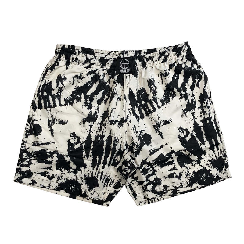 SSS WORLD CORP TIE-DYE QUICK DRY SWIM SHORTS