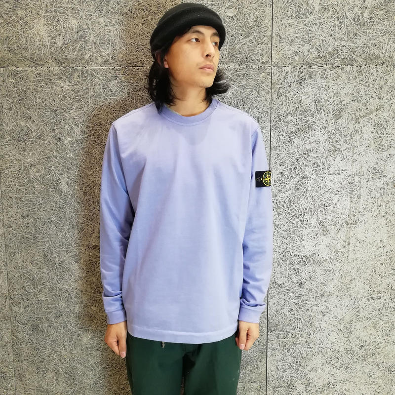 STONE ISLAND LIGHT WEIGHT SWEAT LAVENDER 62150