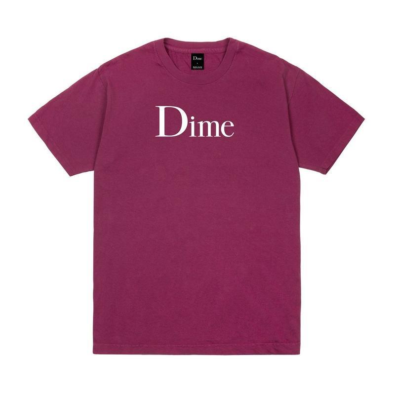 DIME  DIME CLASSIC T-SHIRT RUBY