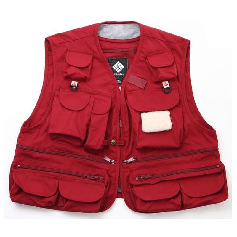 COLUMBIA BLACK LABEL × MOUNTAIN RESEARCH CARBONATE BROOK VEST  RED