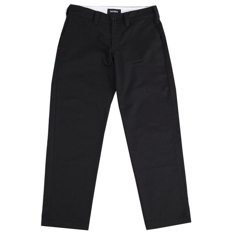 THEORIES STAMP WORK PANT BLACK