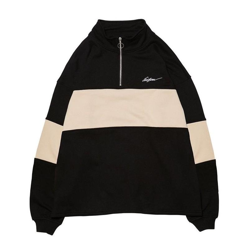 EVISEN SKATEBOARDS VEHICLE ZIP SWEAT BLACK