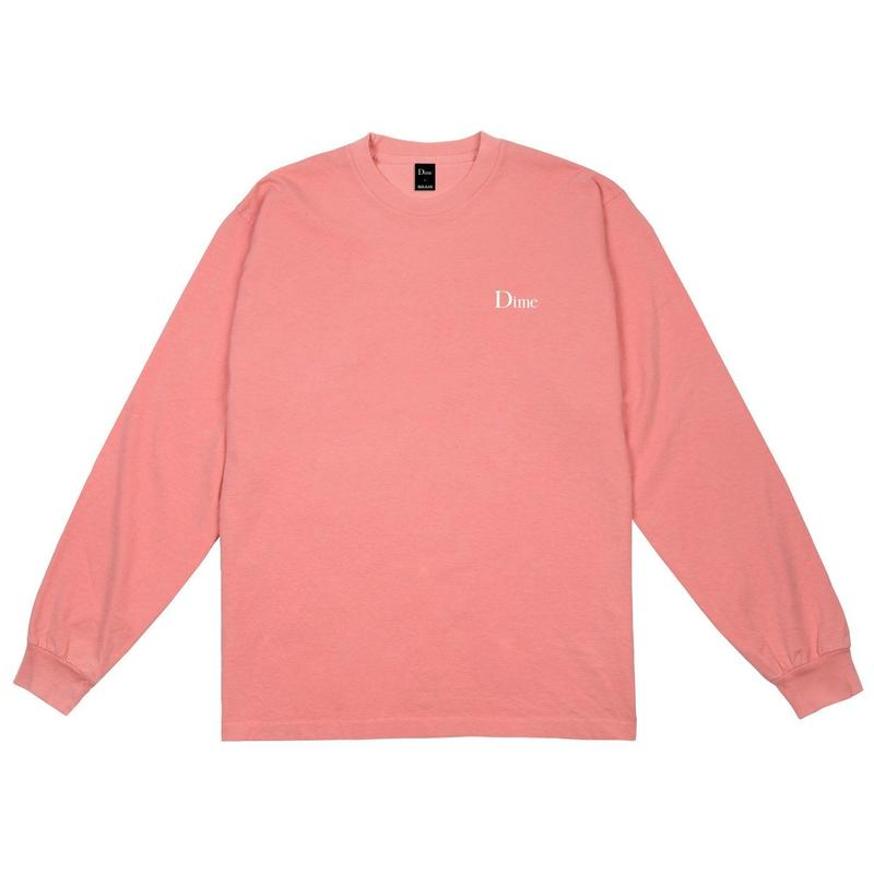 DIME CLASSIC LOGO LSTEE PINK