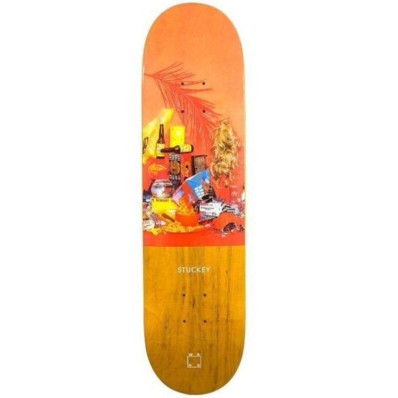 WKND SKATEBOARDS STILL LIFE SERIES - STUCKEY 8.125INCH