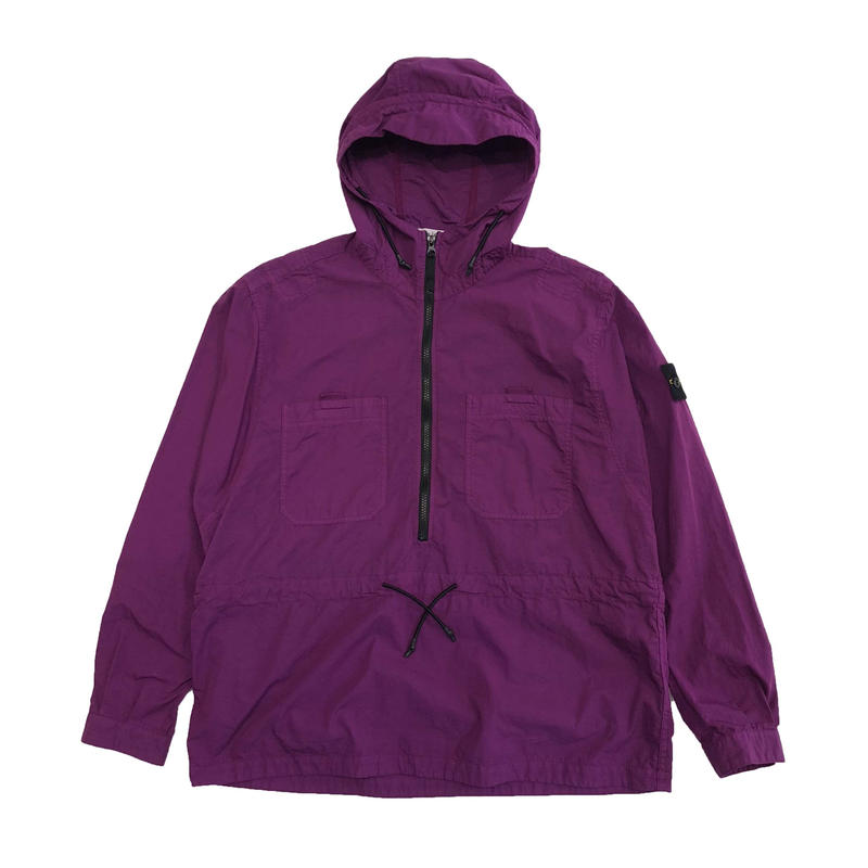STONE ISLAND OVER SHIRT  PURPLE 10403