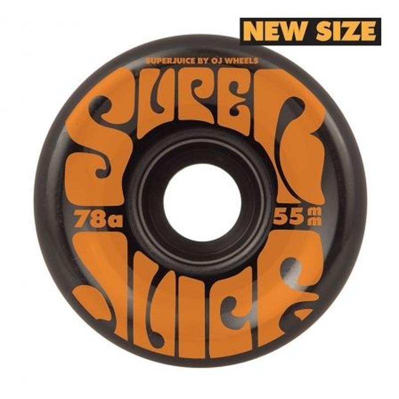 OJ WHEELS MINI SUPER JUICE 55mm BLACK