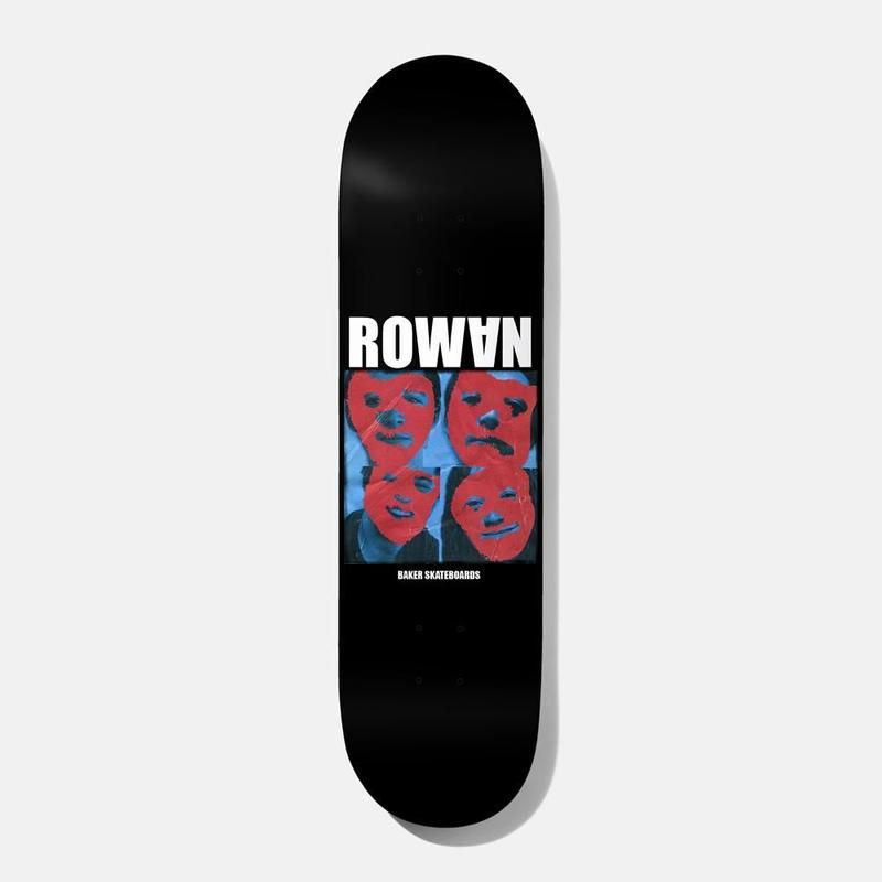 BAKER SKATEBOARDS ROWAN POLYRHYTHM DECK 8.25