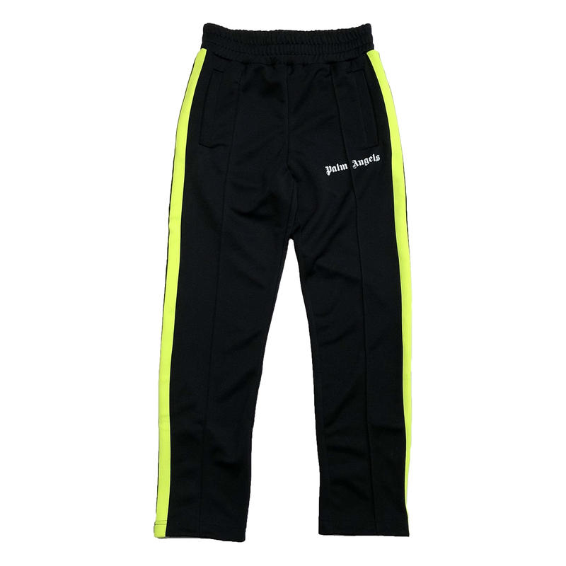 PALM  ANGELS  FLUO TRACK PANTS BLACK