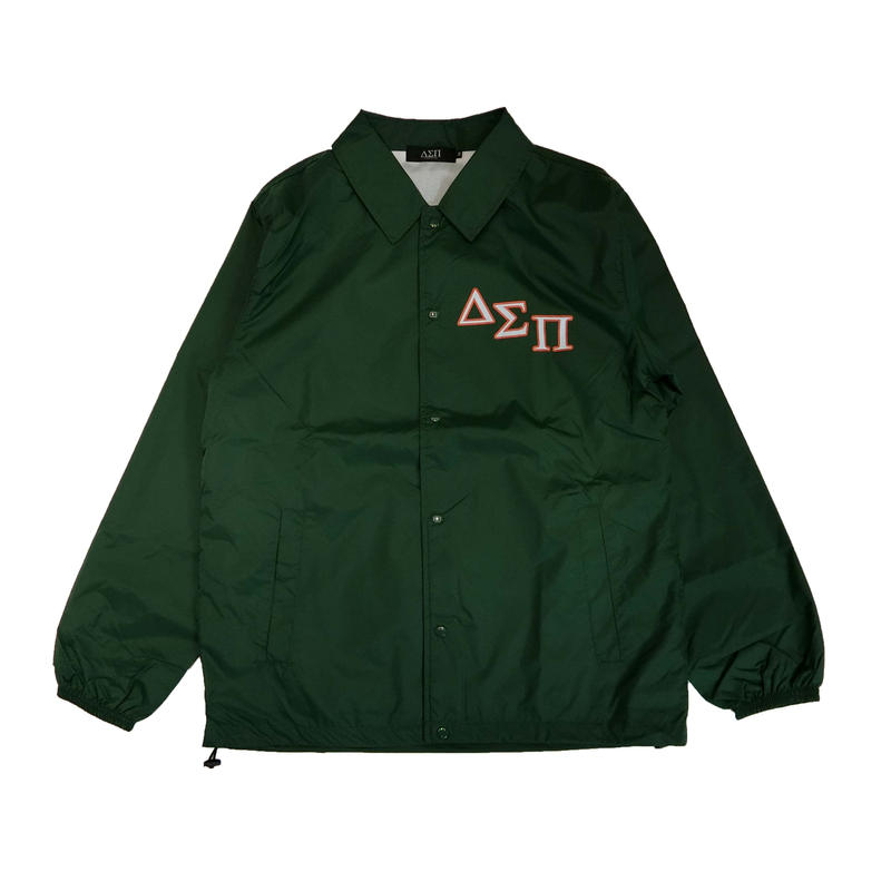 DIASPORA SKATEBOARDS OUTLINE MAGIC CIRCLE COACH JACKET GREEN