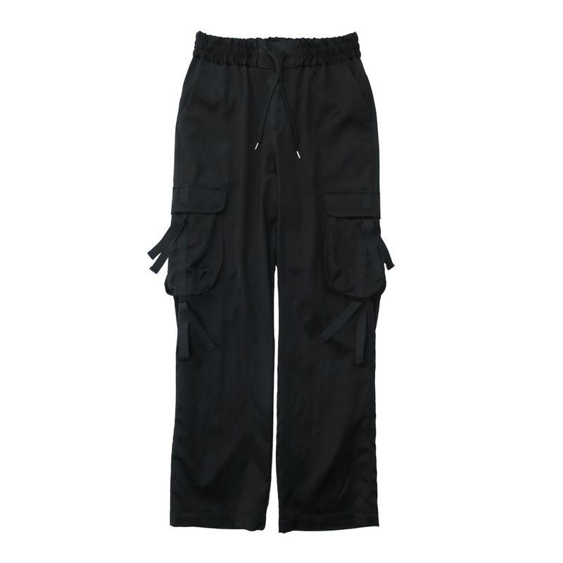 BEAT CARGO PANTS  /  BLACK
