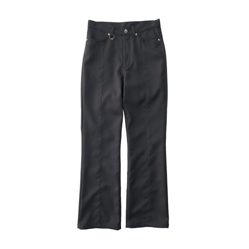 2 PANEL BOOT CUT PANTS  / GRAY