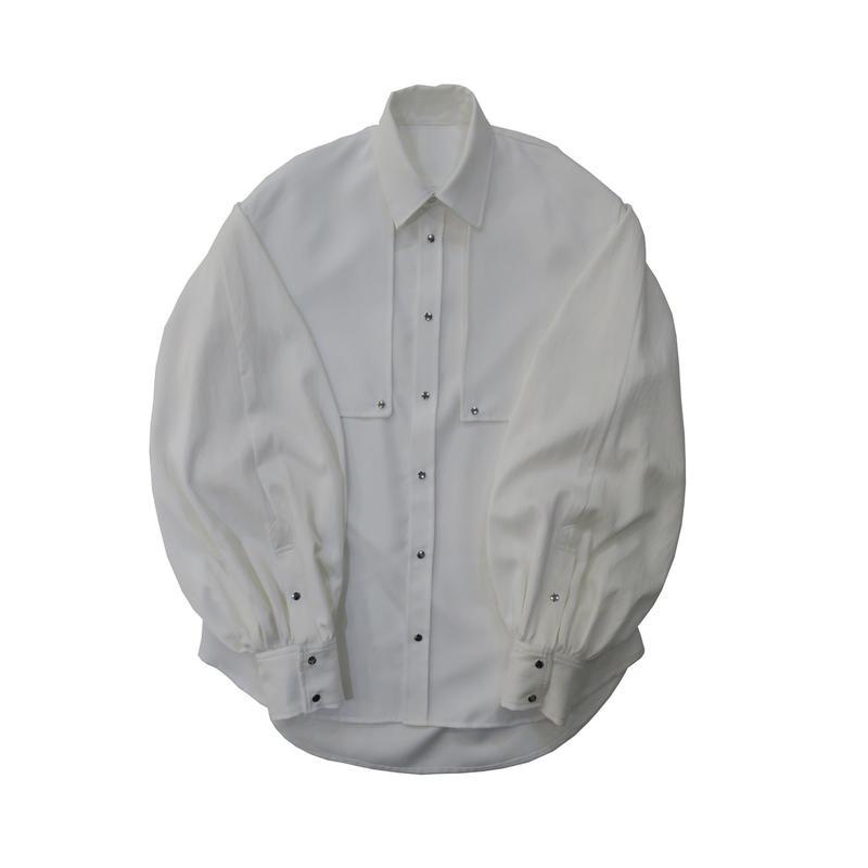 BALLOON SLEEVE SHIRT  /  WHITE SPECIAL