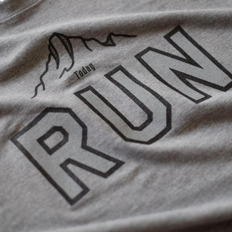 TODAY RUN T-shirts