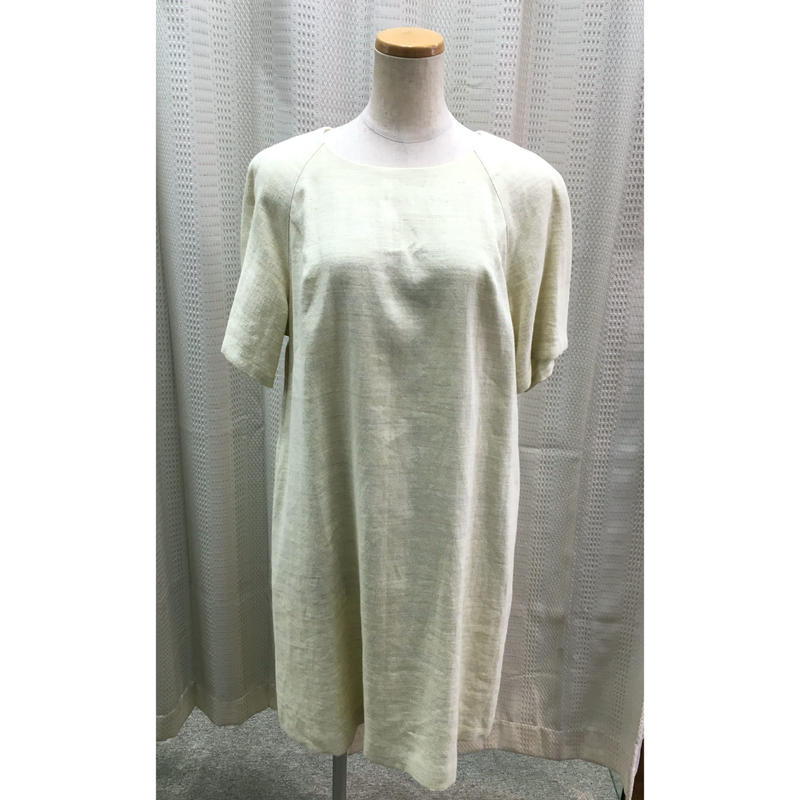 オリジナルサックドレス [イタリー製麻生地使用] フリーサイズ