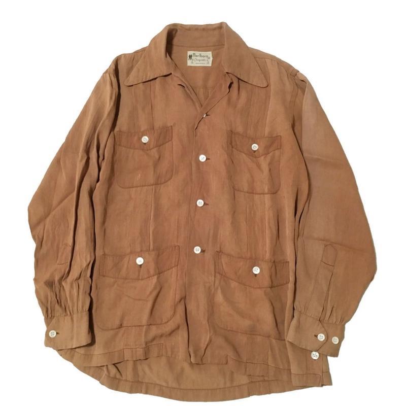 vintage shirt ビンテージレーヨンシャツ