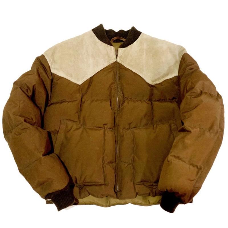 Schott Western down jacket ショット ウエスタン