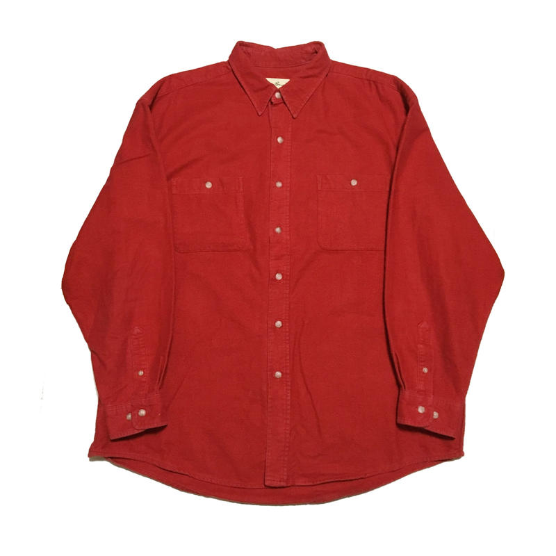 Eddie Bauer Chamois cross shirt エディーバウアー