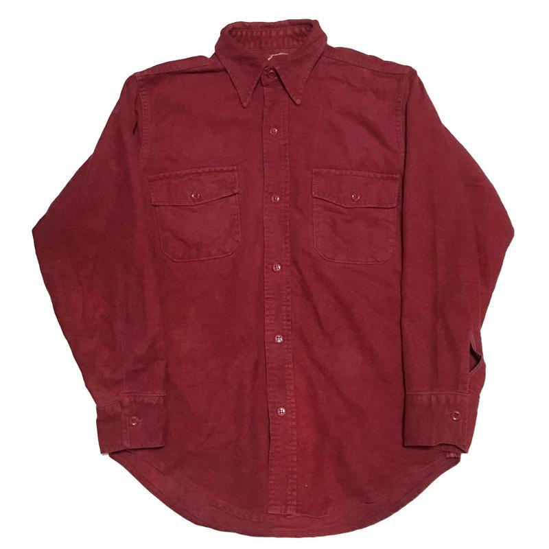 Chamois cross shirtシャモアクロスシャツ