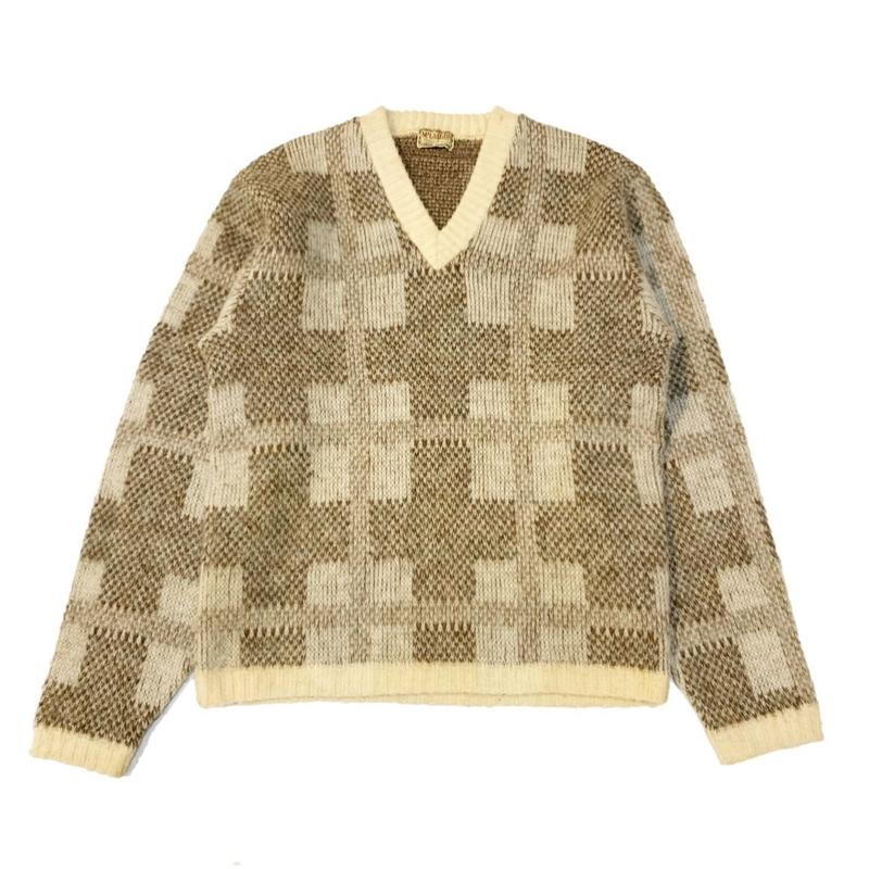 50's McGREGOR Vintage Wool Knit マクレガーニット