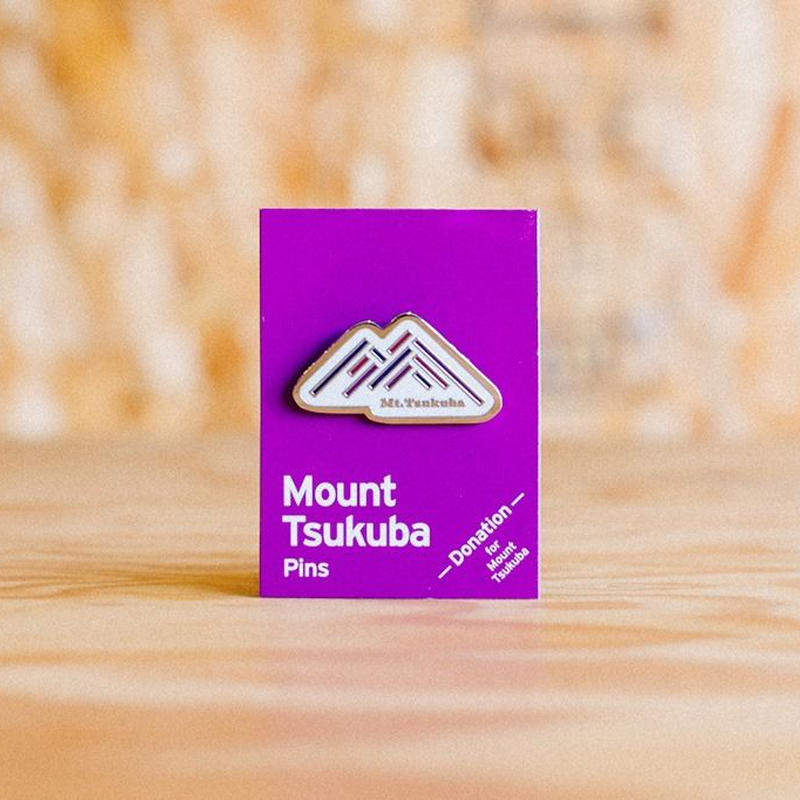 Mount Tsukuba Pins 【ピンバッジ】