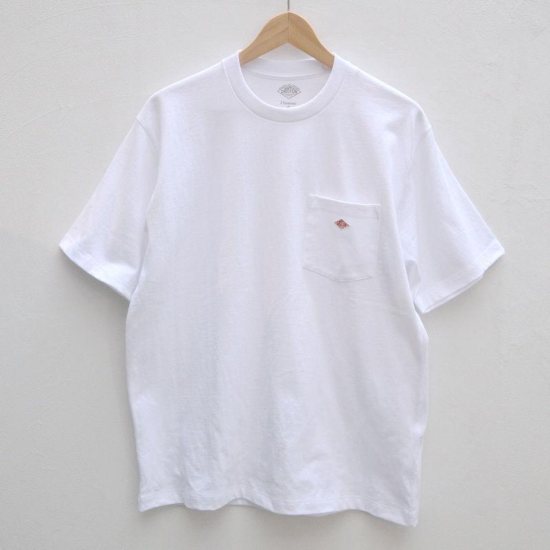 【メンズ】DANTON(ダントン)ポケット付 Tシャツ  [JD-9041-MNS]