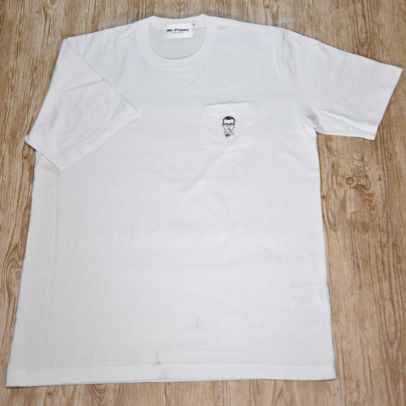 Mr.Poppy  POCKET T-Shirts MADE in TOKYO WH