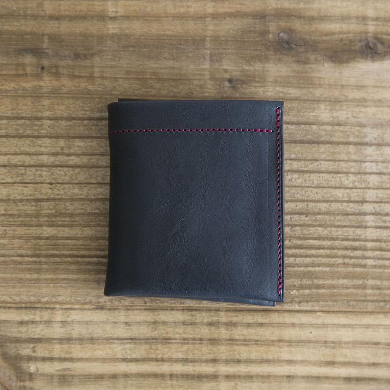 Dew-001 二つ折財布 ネイビー