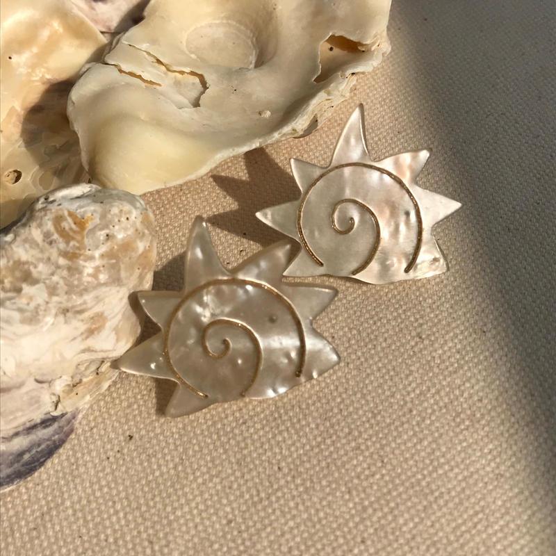 fossil earrings