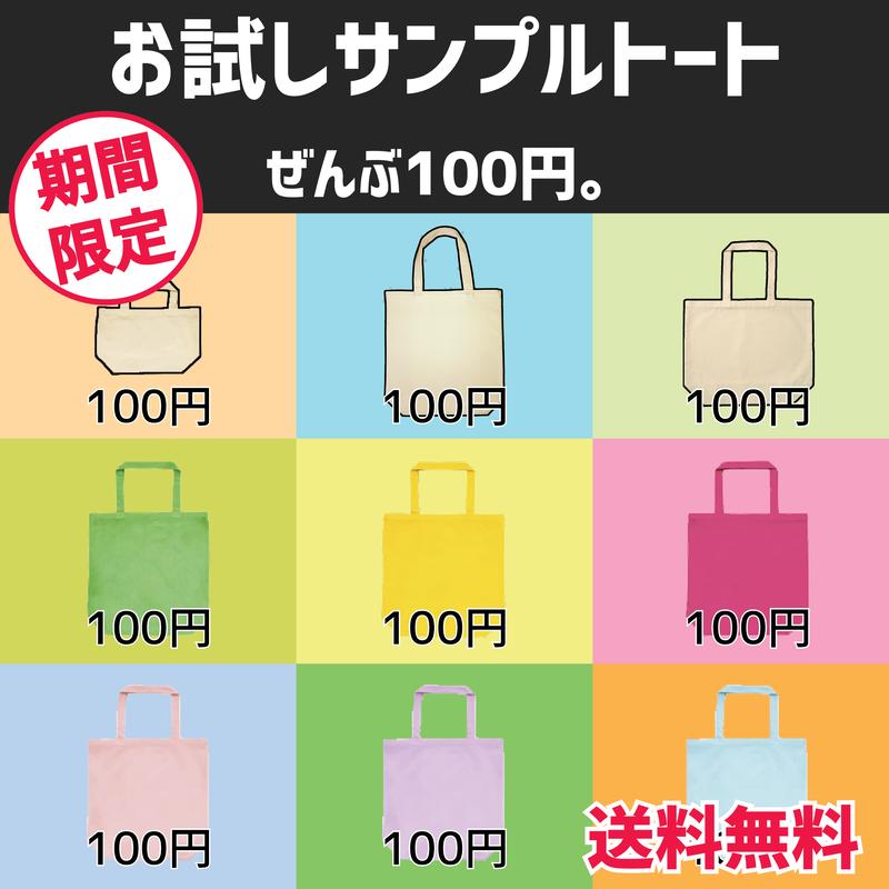 初めてのトートも100円!【DM便/送料無料】