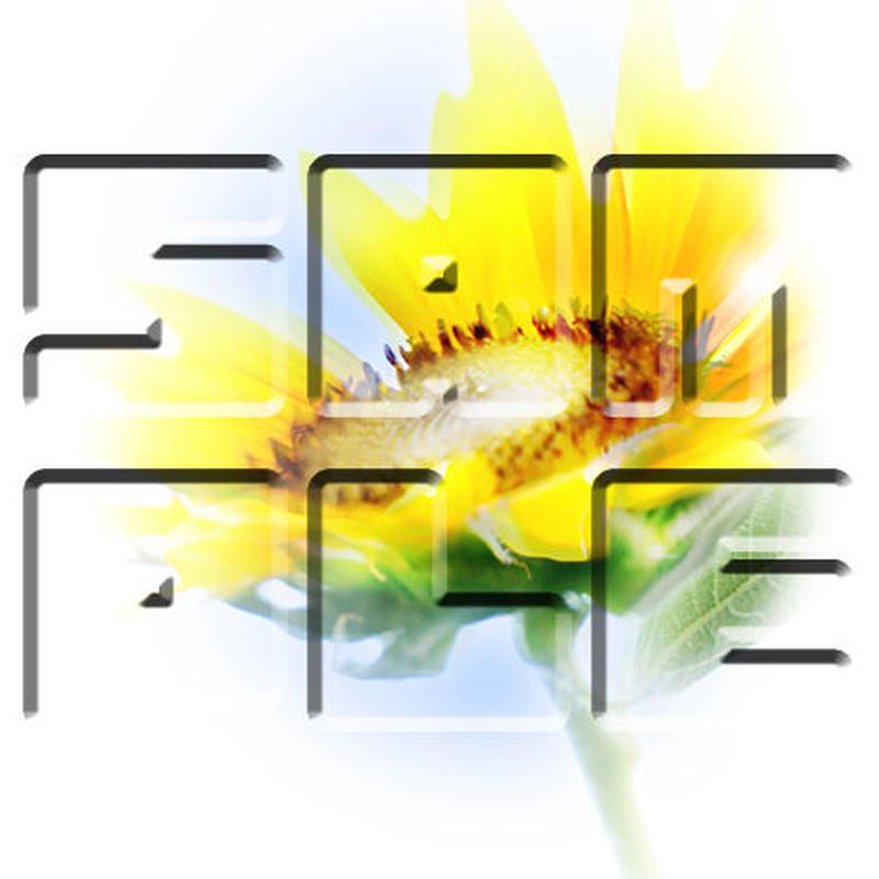 向日葵 ≪花・フォトアート≫ !低価格商品!
