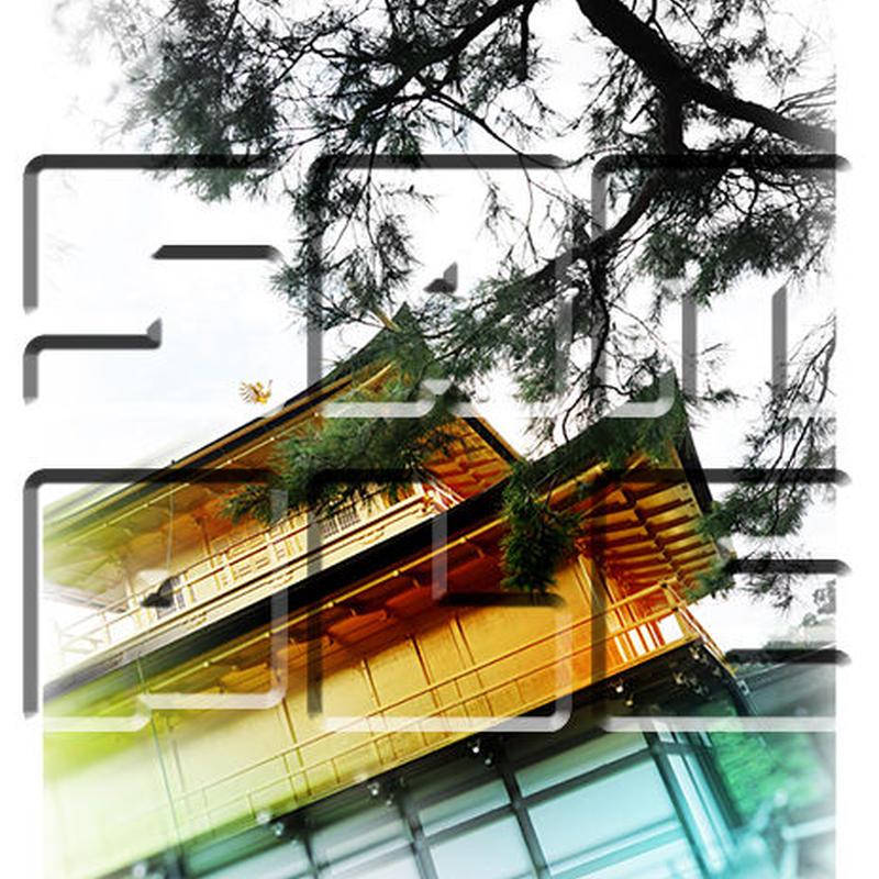 京都・金閣寺 ≪風景・フォトアート≫