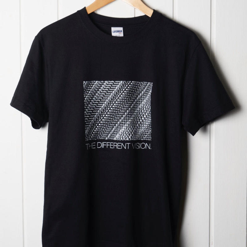 シブヤフォント × REBIRTH PROJECT|street stripe 1|T-shirts