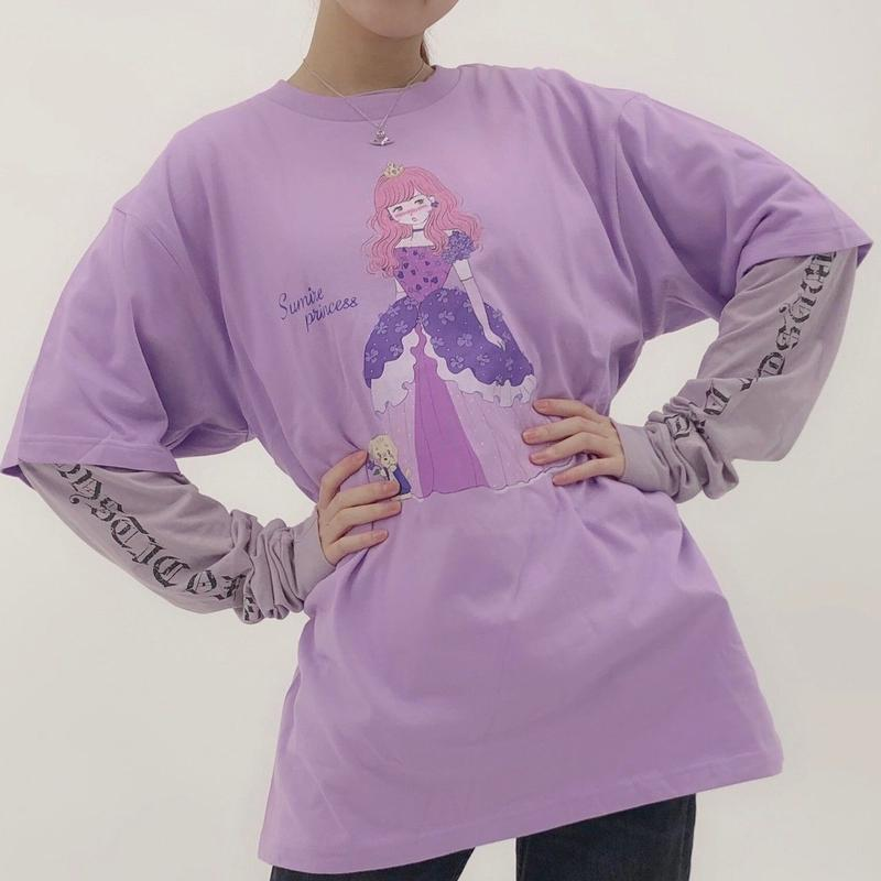 「mikko illustrations ✕ Sumire Sato」コラボTシャツ