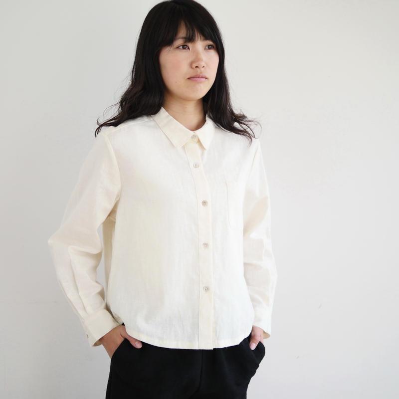 エシカルヘンプ定番シャツ