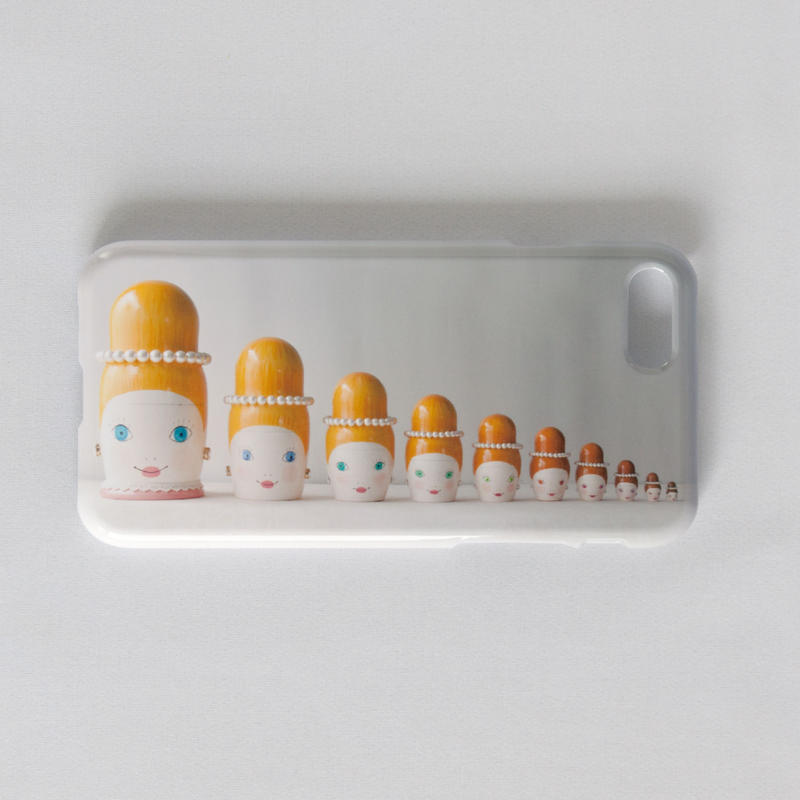 "iphone7/8兼用ハードケース""mademoiselle10"""