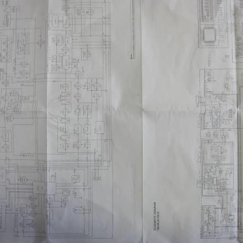 ケンウッドTM-541A/541E・TM-441A/441Eのブロック図 回路図★中古品★