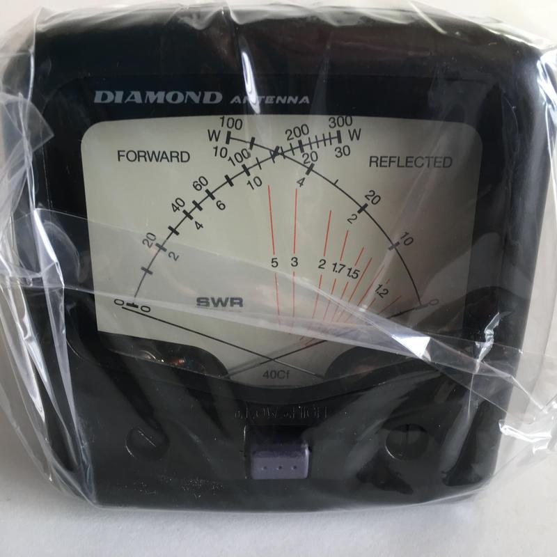 第一電波工業 クロスニードルSWR&パワー計 SX40C