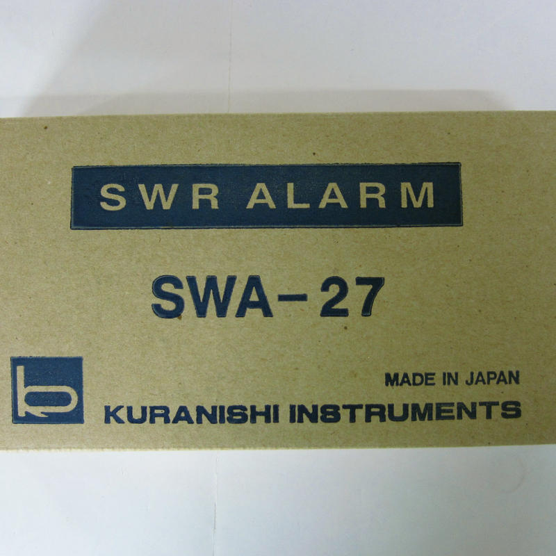 KURANISHI/クラニシ SWR-27  SWRアラーム ★未使用品・レア★