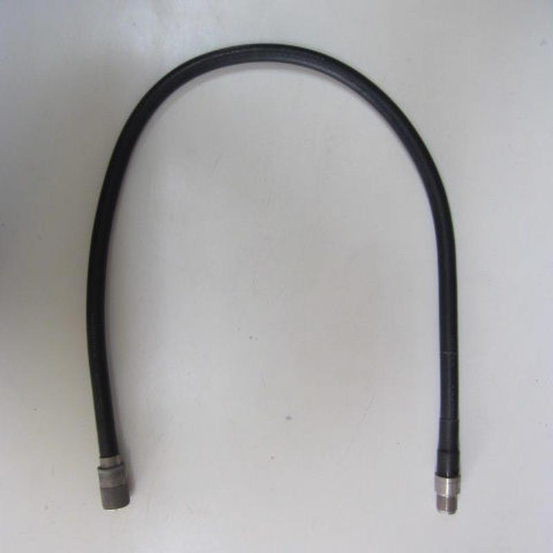 春日電子オリジナル・フジクラ 10D-FB 同軸ケーブル使用 MP-MJコネクター付 83cm ★中古品★
