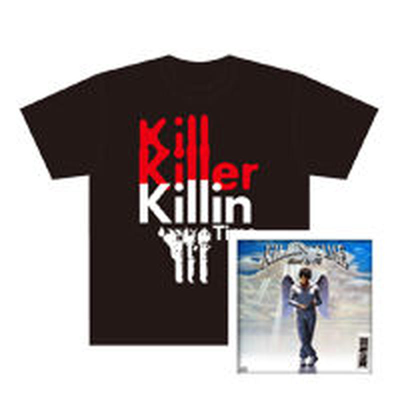 AKAMENO DARUMANO OJIKI PRESENTS 『KILLIN'TIME』mixed by CQ CD & Tシャツ SET