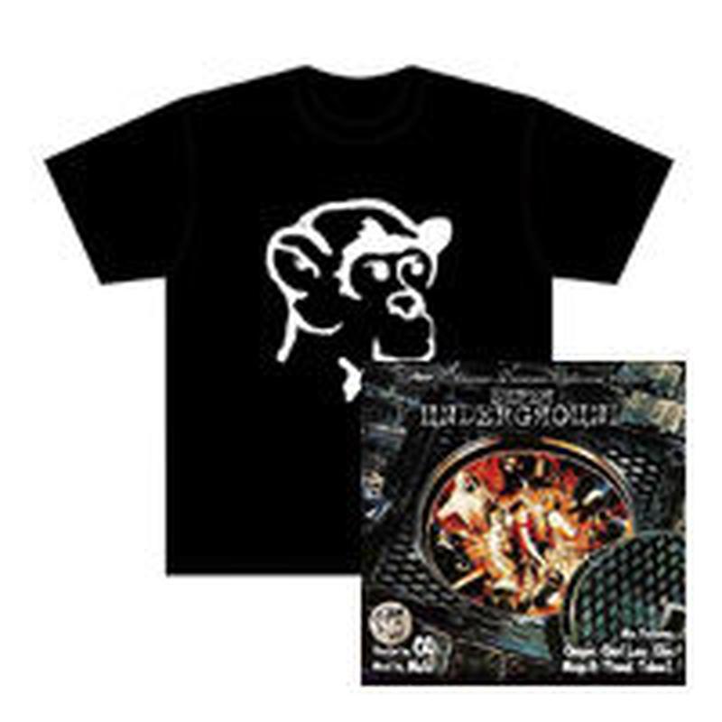 SUPER UNDERGROUND mixed by MUTA CD & Tシャツ SET