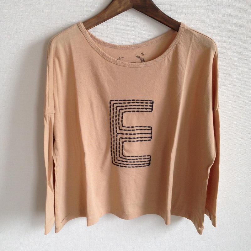 MUU MUU 大人『E』オーガニックTシャツ