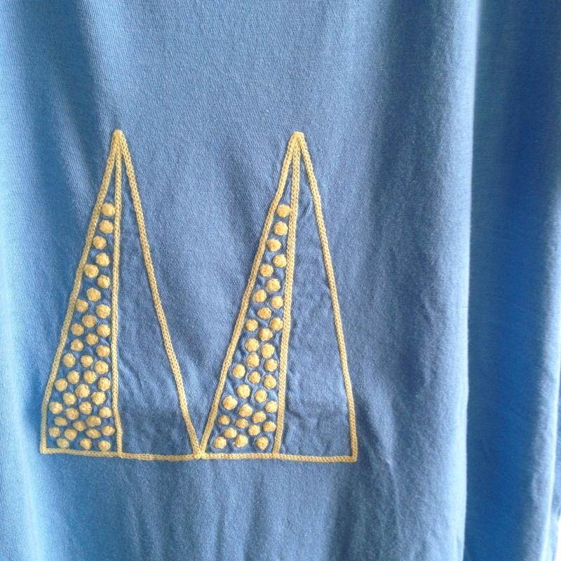 MUU MUU 大人L/S『M』Tシャツ