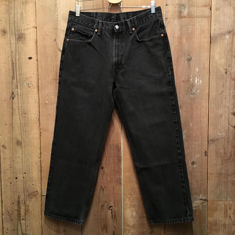 Levi's 550 Black Denim Pants  W : 34  #3