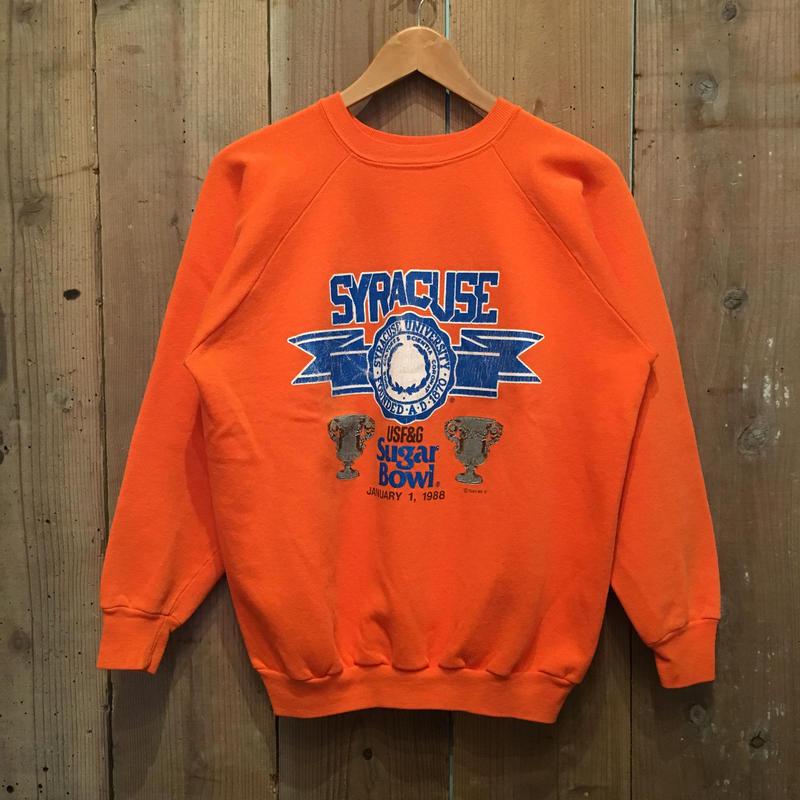 80's TRENCH SYRACUSE Sweatshirt