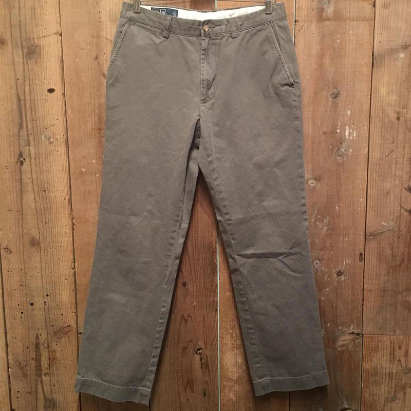 Polo Ralph Lauren Chino Pants GRAY W : 33