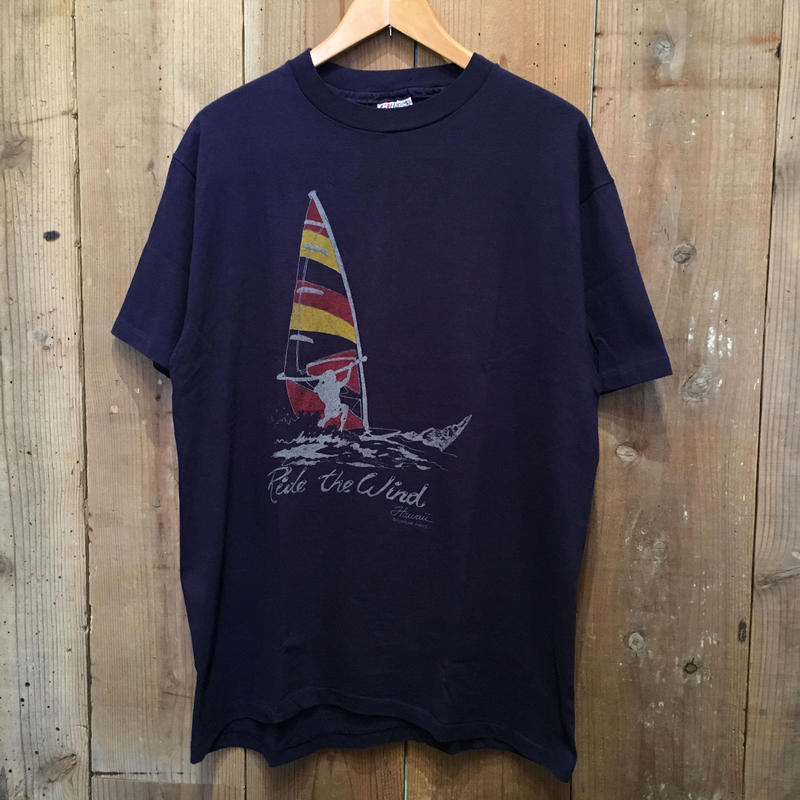 80's Hanes  Ride The Wind Tee